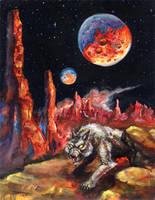 Hunter's Moon by mbielaczyc