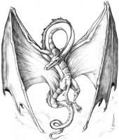 The Sky Dragon by mbielaczyc