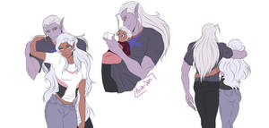 Lotura Sketches by AriamJan