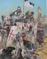 Crusader Knights by Urban-de-Hierosolyma