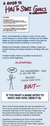 Guide: How to Start Comics by Wasserbienchen