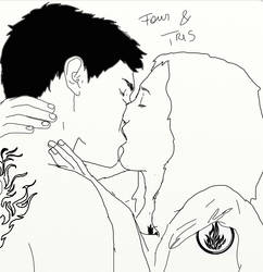 Four and Tris- We are ok by Miniartbypappy