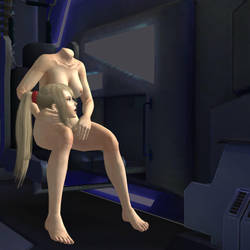 Samus' privacy (Request) by DangerEngineer