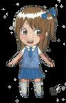 Chibi Manga Schoolgirl by MinYeon-ssi