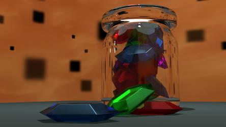 Stream 3D - Rupee Bottle by TaiOshiro