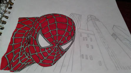 Sam Riami Spider-Man Art unfinished by ChrisE2003