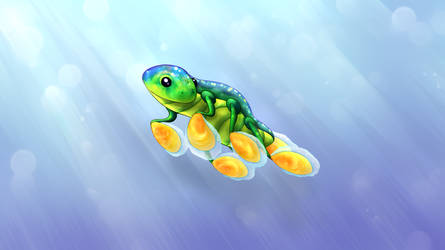 Adorale Hoverfish - No Words in the Bottom Left by KnotLines