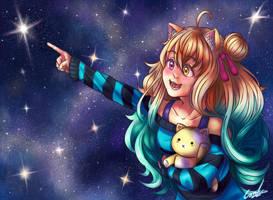 COM #13 - Star Cat by K-armen