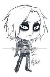 Bucky Barnes Chibi by mazoku-chan