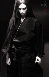 Black samurai by wht0816