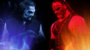 undertaker and kane by barrymk100