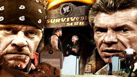 Survivor Series 2003 Undertaker Vs Vince  McMahon by barrymk100