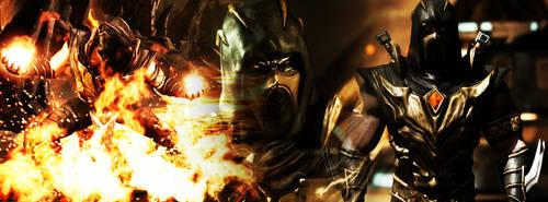 Mortal Kombat X - Scorpion by barrymk100