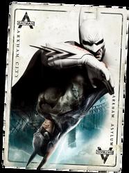 Batman Return to Arkham - Card by barrymk100