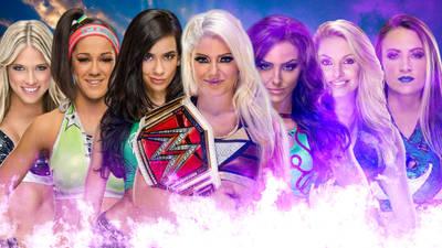 WWE Women by barrymk100
