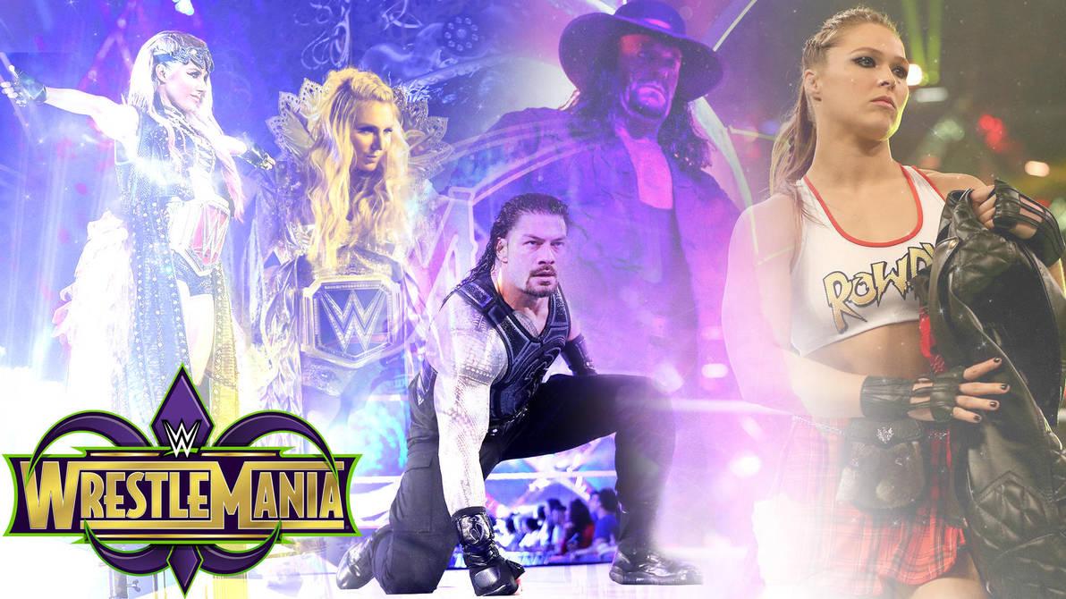WrestleMania 34 by barrymk100