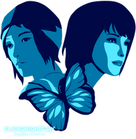 Life is stange - max and chloe by FlyLu
