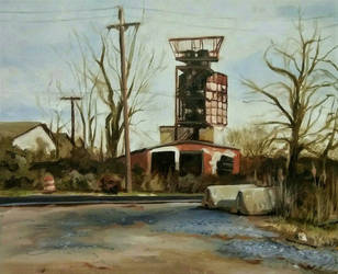 Rusty Tower at Craighead Road by exteroceptie