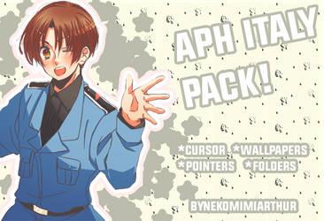 APH Italy pack! ByNekomimiArthur by Nekomimiarthur