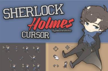 Sherlock Holmes cursor ByNekomimiArthur by Nekomimiarthur