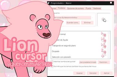 (Steven Universe) Lion cursor ByNekomimiArthur by Nekomimiarthur