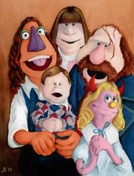 The Whole Family by AnimatedJim