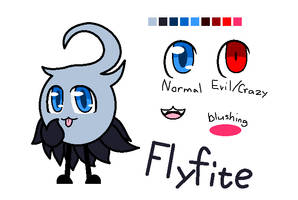 New oc: Flyfite by SkyMeowCute