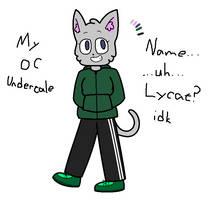 My OC Lycat (undertale)(OLD) by SkyMeowCute
