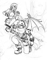 KH: DoC poster concept by sakurabatou