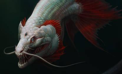 sea dragon by Atenebris