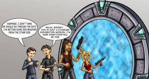 stargate atlantis  tg part 1. by chaos-07