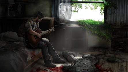 The Last Of Us - Joel by JustReckless