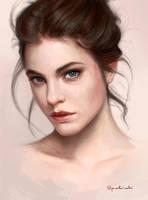 Portrait study by Greg-Opalinski