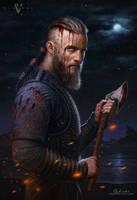 Ragnar Lothbrok - Vikings by Greg-Opalinski