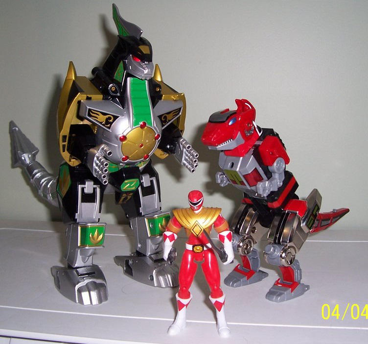 Tyrannosaurus Dinozord Power! Dragonzord Power! By