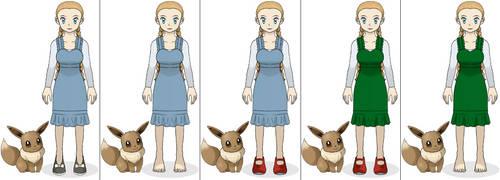 Dorothy Gale - Pokemon Version by ChipmunkRaccoonOz