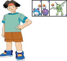 Tracey Sketchit's Team in Pokemon Aura by ChipmunkRaccoonOz