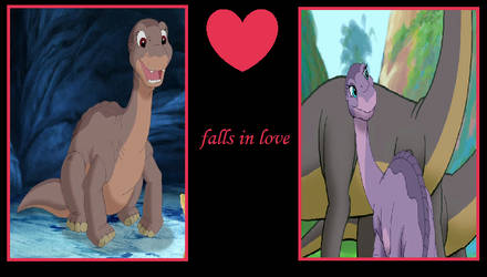 What if Littlefoot Falls in Love with Ali by ChipmunkRaccoonOz