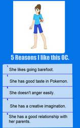Five Reasons I Like Sally Pisen by ChipmunkRaccoonOz