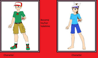 What If Jacob becomes Sally's Valentine? by ChipmunkRaccoonOz