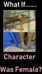 What If Lyle Large Was Female? by ChipmunkRaccoonOz