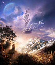 Take me, the ship of my dreams by Osokin