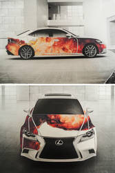 Lexus IS Design Contest by jon-bibire