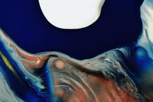 Midnight Blue Oil by jon-bibire