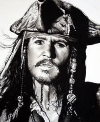 Captain Jack Sparrow by Stitch-Bunny