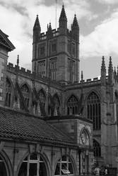 The Cathedral of Bath by darathorn