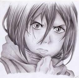 Ackerman, Mikasa by Elioenai
