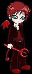 Cute but evil by Kyukitsune