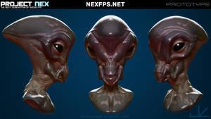 NEX bust3 by HippyHoudini