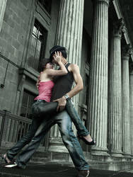 Salsa Dancers 1 by narloke